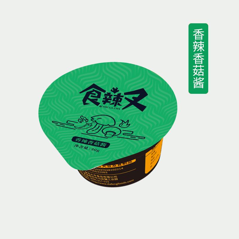 香辣香菇酱-杯装代加工-青岛大丰食品